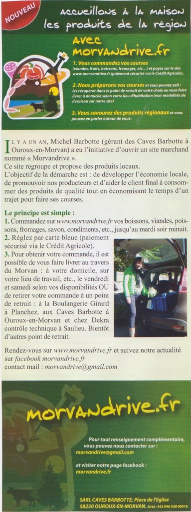 article le criquet nov 2017 Morvandrive